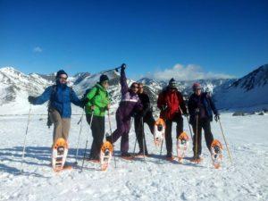 Raquetes de neu a La Cerdanya i a La Molina