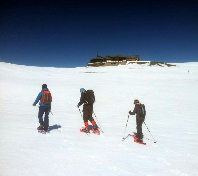 Raquetes de neu a La Tosa